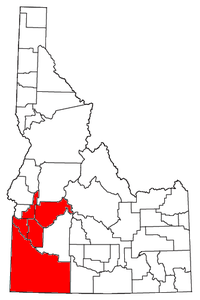 Map of Boise