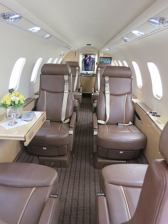 Learjet 45 - flat-floor cabin