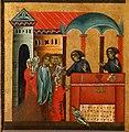Bonaventura Berlinghieri, San Francesco e storie della sua vita, 1235, 04 guarigione di una bimba dalla testa flessa.jpg