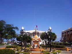 Bonifacio Park located at the heart of the City of Naga