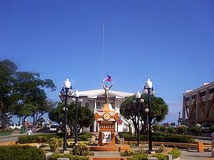 Naga, Cebu - Bonifacio Park and City Hall