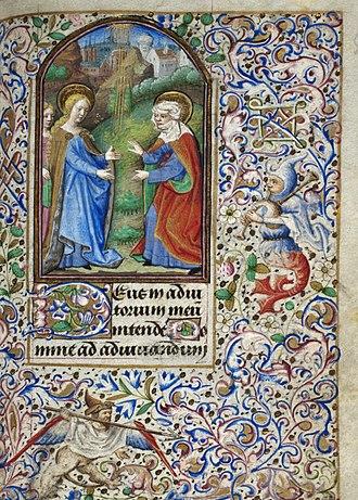 Dunois Master - Image: Book of Hours of Simon de Varie KB 74 G37 folio 053r