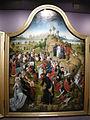 Bottega del maestro della leggenda di santa caterina, trittico coi miracoli di cristo 02.JPG