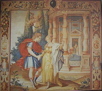 Francis Cleyn - Image: Bratislavske tapiserie 1