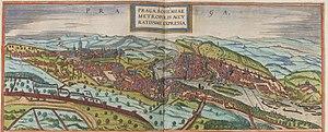 History of Prague - Prague in 1572
