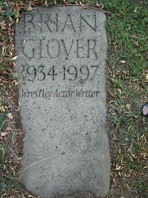 Brian Glover - Gravestone