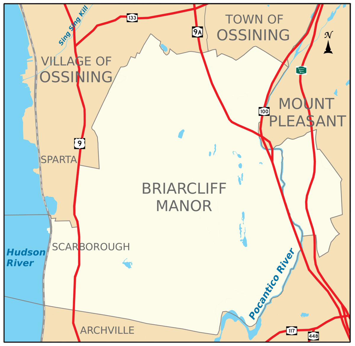 Briarcliff Manor: Travel Guide At Wikivoyage
