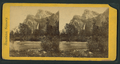 Bridal Veil Falls and the Three Brothers, from Robert N. Dennis collection of stereoscopic views.png