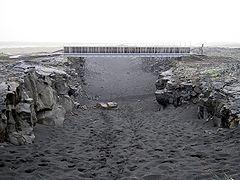 Bridge across continents iceland