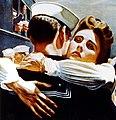 Bring him home sooner... Join the WAVES, U.S. Navy poster, 1944 (cropped).jpg