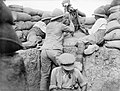 British machine gun & periscope Gallipoli IWM Q 013450.jpg