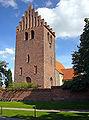 Broenshoej Kirke Denmark belfry.jpg