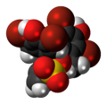 Bromocresol green cyclic 3D spacefill.png