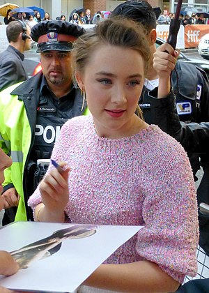 Saoirse Ronan - Ronan at the premiere of Brooklyn during the 2015 Toronto International Film Festival