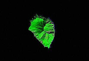 NASA Landsat image of Broutona