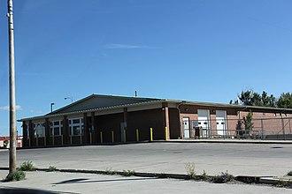 Browning, Montana - Image: Browning Montana Post Office