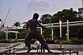 Bruce Lee Statue at the Avenue of Stars, Hongkong (Ank Kumar) 05.jpg