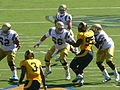 Bruins on offense at UCLA at Cal 2010-10-09 17.JPG