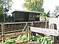 Brundall railway station - shelter on westbound platform - geograph.org.uk - 1531794.jpg
