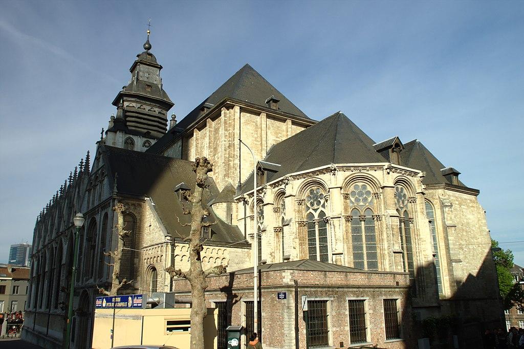Brusel, kostel Notre-Dame de la Chapelle II.jpg