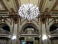 Bucuresti, Romania. CERCUL MILITAR NATIONAL. Sala de receptie. (B-II-m-A-19201)(Plafon cu candelabru) (10).jpg