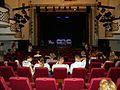 Bucuresti, Romania. Teatrul NOTTARA. (Sala Horia Lovinescu.Ocuparea locurilor inainte de inceperea spectacolului). Iunie 2017.jpg