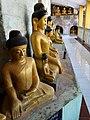Buddha Figures at Shittaung Paya - Mrauk U (Myuhaung) - Arakan State - Myanmar (Burma) (12231653213).jpg