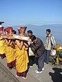 Buddhist Festiva in Darjeeling West Bengal India.JPG
