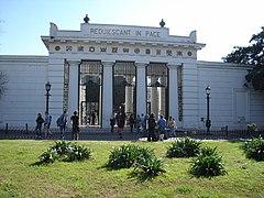 Buenos Aires - Recoleta - Entrada Cementerio