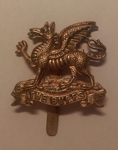 Buffs (Royal East Kent Regiment) Cap Badge
