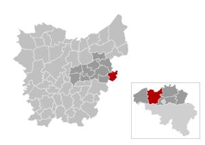 Buggenhout - Image: Buggenhout Locatie
