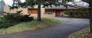 A. H. Bulbulian Residence - The Bulbulian House as seen from Skyline Drive, Rochester, Minnesota