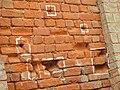 Bullets signs of firing during Jallianwala Bagh massacre , Amritsar.jpg
