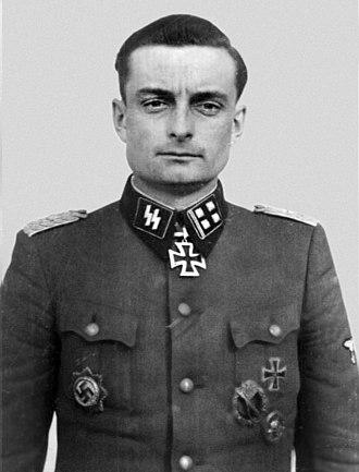Obersturmbannführer - An Obersturmbannführer in the Waffen-SS