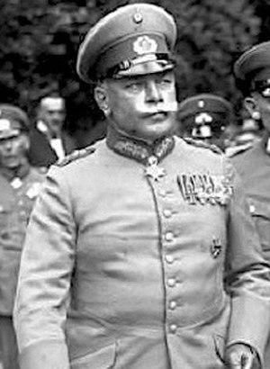 Wilhelm Heye - Wilhelm Heye in a photograph by Nicola Perscheid