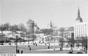 Freedom Square, Tallinn - Image: Bundesarchiv Bild 146 2004 231, Reval, Freiheitsplatz