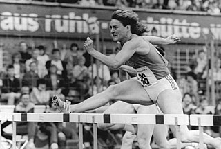 Cornelia Oschkenat German sprinter and hurdler