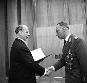 Heinz Kessler - Generalleutnant Keßler with Walter Ulbricht in 1966