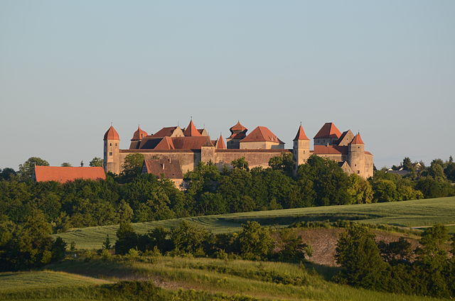 Harburg Castle in Schwaben