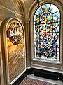 Burlington House, Royal Society of Chemistry, War memorial and window.jpg