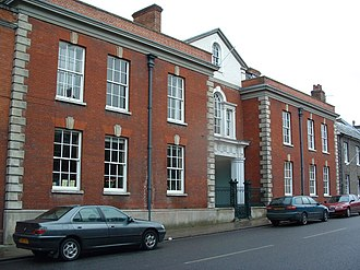 Norah Lofts - Northgate House, Bury St Edmunds, home to Lofts from 1955 until her death in 1983