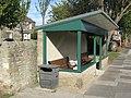 Bus stop shelter Holywell Village Northumberland - geograph.org.uk - 1531642.jpg