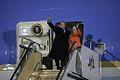 Bush arrives Osaka Japan.jpg