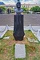 Busto de Gualberto Villarroel con el mensaje más recordado de el.jpg