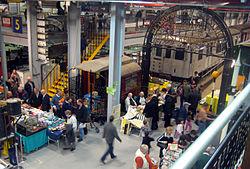 Busy Museum Depot - London Transport Museum Open Weekend March 2012 (6971240729).jpg