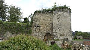 Bazoches-sur-Vesles - Image: Côté nord 8066