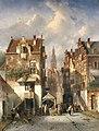 C.H.J. Leickert - Gezicht op Nijmegen - NK1869 - Cultural Heritage Agency of the Netherlands Art Collection.jpg