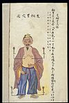 C19 Chinese MS moxibustion point chart; Regurgitation points Wellcome L0039509.jpg