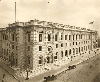 James R. Browning United States Court of Appeals Building - The building as it appeared in 1905.