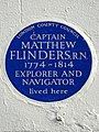 CAPTAIN MATTHEW FLINDERS R.N. 1774-1814 EXPLORER AND NAVIGATOR lived here.jpg